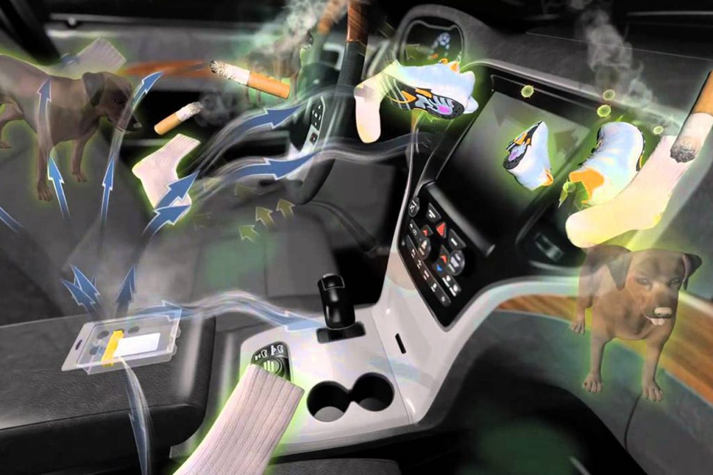 Ozone Car Treatment